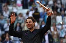 Rafael Nadal nói gì sau khi san bằng kỷ lục của Novak Djokovic?