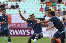 U20 Argentina thảm bại trước U20 Anh ngay trong ngày khai mạc