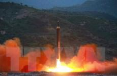 Phản ứng của Mỹ, Nhật Bản về vụ phóng tên lửa mới của Triều Tiên