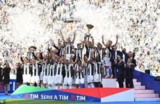 Juventus lập kỷ lục 6 lần liên tiếp đăng quang tại Serie A