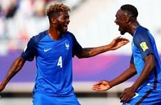 Đội tuyển U20 Pháp thắng đậm U20 Honduras ở trận ra quân