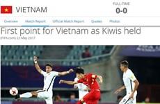 FIFA tiếc vì U20 Việt Nam lỡ cơ hội giành chiến thắng lịch sử