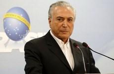 Tổng thống Brazil Michel Temer tuyên bố sẽ không từ chức