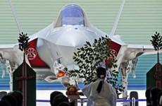 Nhật Bản ra mắt chiến đấu cơ F-35 đầu tiên lắp ráp trong nước