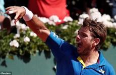 Ngược dòng hạ Murray, Wawrinka thẳng tiến chung kết Roland Garros