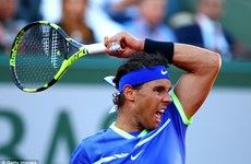 """Hạ gục nhanh"" Thiem, Nadal cận kề cú ""decima"" ở Roland Garros"