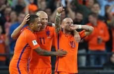 Vòng loại World Cup: Hà Lan thắng hủy diệt, Ronaldo tỏa sáng