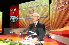 Phát biểu của Tổng Bí thư tại Lễ tuyên dương điển hình tiên tiến 2017