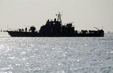 Iran đưa tàu chiến tới Oman trong bối cảnh căng thẳng Vùng vịnh