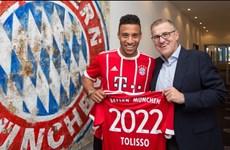 """Bom tấn"" Corentin Tolisso chính thức gia nhập Bayern Munich"