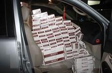 Ôtô khách vận chuyển gần 6.000 bao thuốc lá lậu tại Thanh Hóa