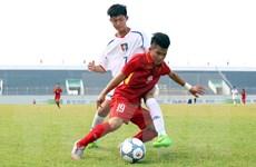 Hòa Myanmar, Việt Nam giành vị trí á quân giải U15 quốc tế