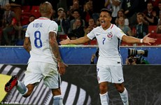 Chile đánh bại Cameroon, chờ đối đầu nhà vô địch thế giới Đức