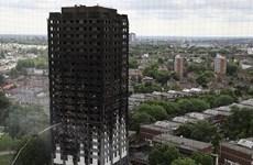 Vụ cháy chung cư ở Anh: Công bố các biện pháp hỗ trợ nạn nhân