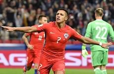 Alexis Sanchez đi vào lịch sử trong ngày Chile chia điểm với Đức