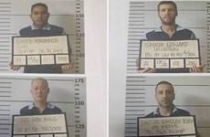 Bốn tù nhân người nước ngoài đào hầm vượt ngục tại Indonesia
