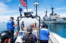 Mỹ và Philippines tiến hành một cuộc tuần tra hàng hải chung
