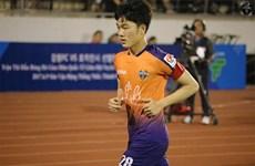 Xuân Trường lần đầu được đá chính cho Gangwon FC tại K-League