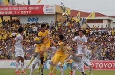 Vòng 16 V-League: FLC Thanh Hóa hạ HAGL, Hà Nội thua sốc
