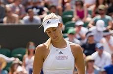 Wimbledon: Angelique Kerber bị loại, mất ngôi số 1 thế giới