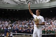 Federer lên số 3, Nadal cách ngôi số 1 thế giới đúng 285 điểm