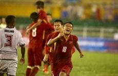 """Cận cảnh U23 Việt Nam hạ U23 Timor Leste sau màn """"thủy chiến"""""""
