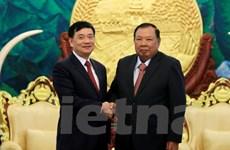 Lãnh đạo Lào đánh giá cao vai trò của Hội Hữu nghị Việt-Lào