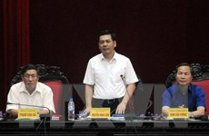 Lãnh đạo Thái Bình đối thoại việc dừng hoạt động xe khách nội tỉnh