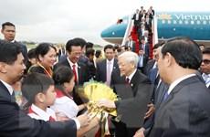 Tổng Bí thư hội kiến Thủ tướng Chính phủ Hoàng gia Campuchia