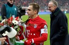 Philipp Lahm được bầu là cầu thủ xuất sắc nhất Đức năm 2017