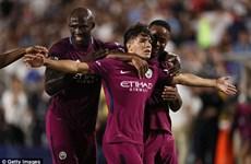 Manchester City giành chiến thắng hủy diệt trước Real Madrid
