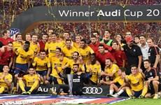 Hạ Liverpool ở chấm 11m, Atletico Madrid đăng quang Audi Cup