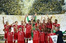 """Bayern Munich giành Siêu cúp Đức sau màn """"đấu súng"""" căng thẳng"""