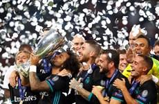 Hạ Manchester United, Real Madrid giành Siêu cúp châu Âu