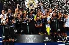 Cận cảnh Real Madrid đánh bại M.U để giành Siêu cúp châu Âu