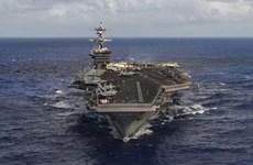Mỹ chưa có kế hoạch đưa thêm tàu sân bay tới Bán đảo Triều Tiên
