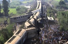 Ai Cập: Số người chết trong vụ tàu hỏa đâm nhau lên tới 43 người