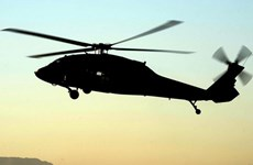 Rơi trực thăng tại Yemen, bốn binh sỹ của UAE thiệt mạng
