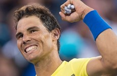 """""""Vua sân đất nện"""" Rafael Nadal trở lại ngôi vị số 1 thế giới"""