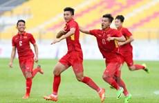 Văn Hậu tỏa sáng giúp U22 Việt Nam thắng đậm U22 Timor Leste