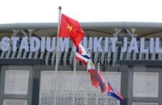 SEA Games 29: Quốc kỳ Việt Nam tung bay trong Lễ thượng cờ