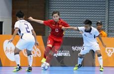 Futsal nữ Việt Nam bại trận trước Futsal Thái Lan ở trận ra quân