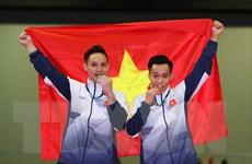 Bảng tổng sắp huy chương SEA Games: Việt Nam lên vị trí thứ 2