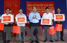 Thủ tướng Nguyễn Xuân Phúc thăm xã Đức Trạch của tỉnh Quảng Bình