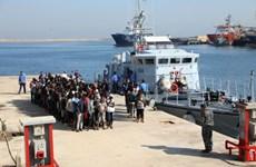 Libya giải cứu được gần 500 người di cư ngoài khơi Tripoli