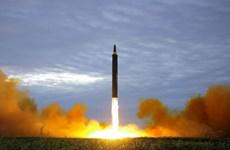 Mỹ dự đoán Triều Tiên hoàn thiện ICBM vào cuối năm 2018