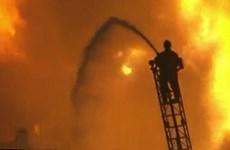 Hỏa hoạn nghiêm trọng tại nhà máy sản xuất xe buýt lớn nhất Brazil