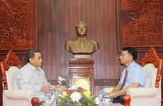 Lời dạy của Hồ Chủ tịch là di sản vô giá với công tác mặt trận của Lào
