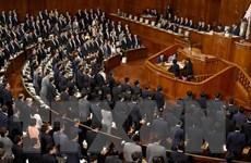 Hạ viện Nhật Bản thông qua nghị quyết lên án Triều Tiên thử hạt nhân