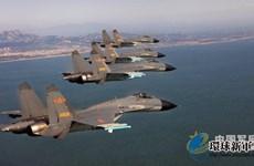 Không quân Trung Quốc diễn tập phòng thủ gần Bán đảo Triều Tiên